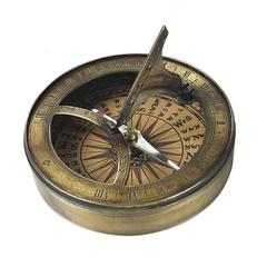 18th C. Sundial & Compass, no lid