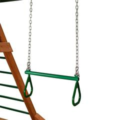 "21"" Trapeze Bar w/ Rings - Green"