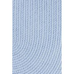 """Rhody Rug WearEver Hydrangea Poly 18"""" x 36"""" Slice"""