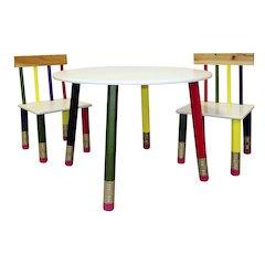 Kids Table 3-Pc. Set - White Table