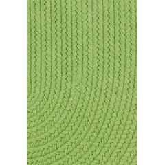 "Rhody Rug WearEver Key Lime Poly 18"" x 36"" Slice"