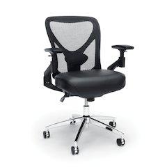 Stratus Series Model 257-VAM 24-Hour Big & Tall High-Back Vinyl Mesh Chair,  Black