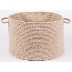 "WearEver Beige Poly 18"" x 12"" Basket"