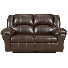 Flash Furniture Exceptional Designs by Flash Brandon Brown Leather Reclining Loveseat