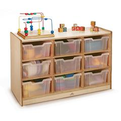 CLEAR TRAY STORAGE CABINET 9 TRAY