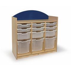 Rainbow Tray Storage Cabinet Blue
