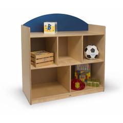 Rainbow Sturdy Storage Cabinet Blue