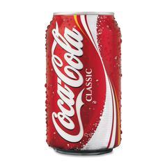 Classic Coke Soft Drink - Cola - 12 fl oz - Can - 24 / Carton