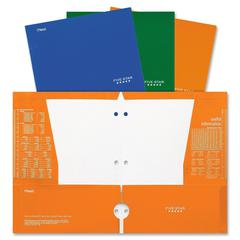 "Laminated 4-Pocket Folder9.5"" x 12"" - 48 / Display Box - Assorted"