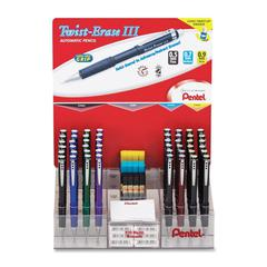 Twist-Erase III Automatic Pencil Set - Barrel Color: Assorted - 48 / Display Box