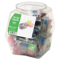 Mini Tape Tub Display - Dispenser Included - 20 / Display Box - Assorted