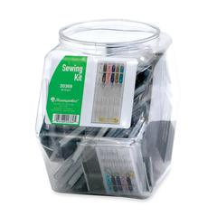 Basic Sewing Kit with Plastic Case - Sewing Kit