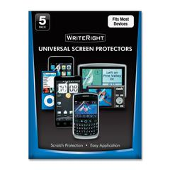 WriteRight Universal Screen Protectors - Cellular Phone