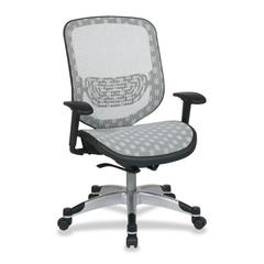 "Space 829 Series Duragrid Seat/Back Chair - White Seat - 27.5"" x 24.3"" x 45.3"" Overall Dimension"