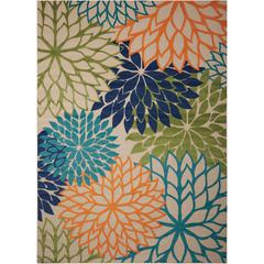 Aloha Multicolor Indoor/Outdoor Area Rug