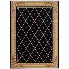 Ashton House Black Area Rug