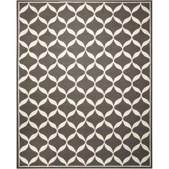 Decor Grey/White Area Rug