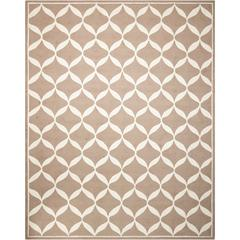 Decor Taupe/White Area Rug