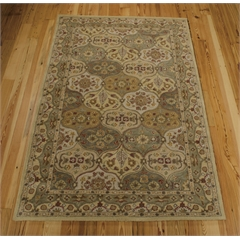 India House Rectangle Rug By, Multicolor, 5' X 8'