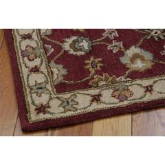 India House Red Area Rug