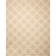 Linear Beige Area Rug