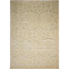 Luminance Cream Mint Area Rug