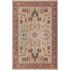 Nourmak Light Gold Area Rug