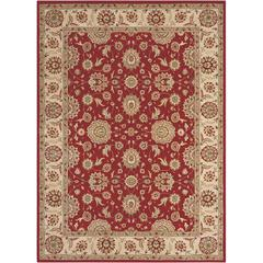 Persian Crown Red Area Rug