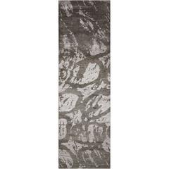 Silk Shadows Coal Area Rug