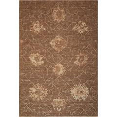 Silken Allure Chocolate Area Rug