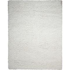 Zen White Shag Area Rug
