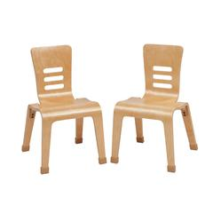 "14"" Bentwood Chair - Natural, set of 2"