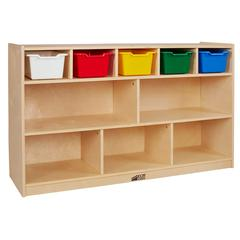 Birch 5+5 Storage and Tray Cabinet - Assorted