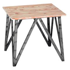 Regis Pine Top End Table