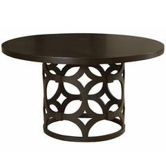 Tuxedo Round Dining Table