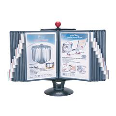 E-Z Rotary Reference Organizer w/Whiteboard (20 Panel)