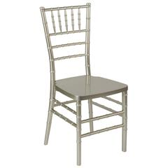 Champagne Resin Stacking Chiavari Chair
