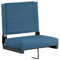 Grandstand Comfort Seats with Ultra-Padded Seat in Teal