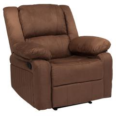 Harmony Series Chocolate Brown Microfiber Recliner