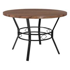 """Tremont 45"""" Round Dining Table in Coffee Wood Finish"""