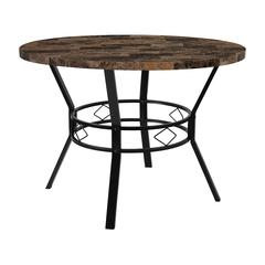 """Tremont 42"""" Round Dining Table in Swirled Marble-Like Finish"""