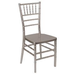 HERCULES PREMIUM Series Pewter Resin Stacking Chiavari Chair