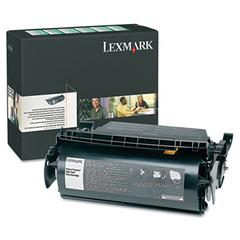 Lexmark High Capacity Black Toner Cartridge - Laser - Black