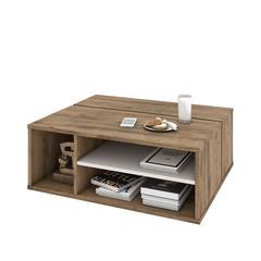 Fom Coffee Table in Rustic Brown & Sandstone