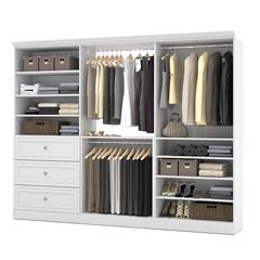 Versatile 108' Storage kit in White