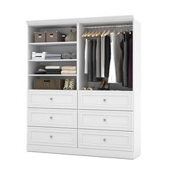 Versatile 72' Storage kit in White