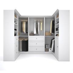 Versatile 108' Corner kit in White