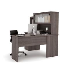 Dayton by  L-Shaped desk in Bark Gray
