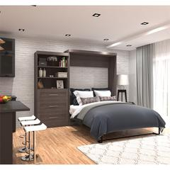 """101"""" Queen Wall bed kit in Bark Gray"""