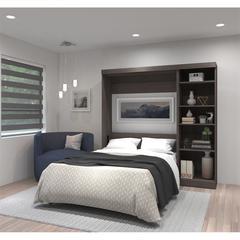 "84"" Full Wall bed kit in Bark Gray"